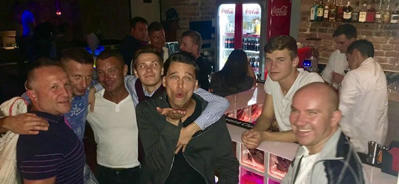 Heaven gay bar Prague