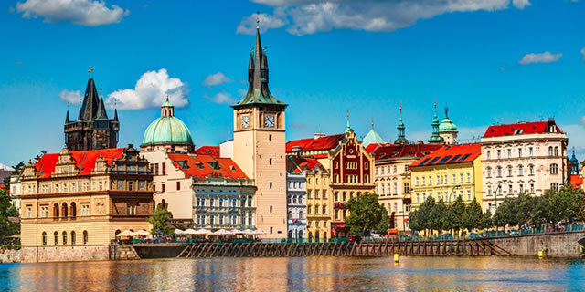 Prague's fairy tale architecture and position on the Vltava make it a romantic destination - a feast for the senses.