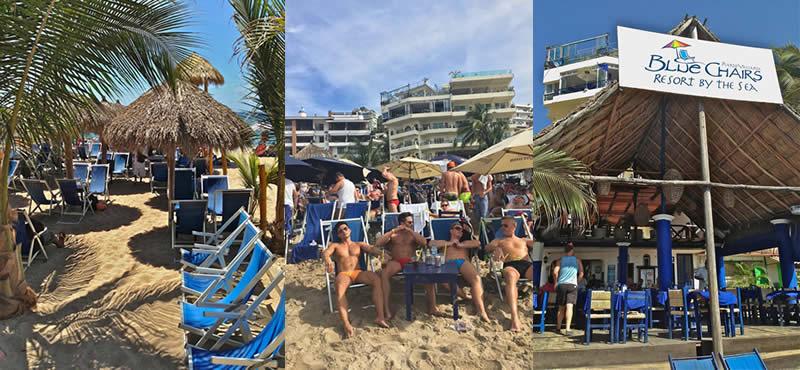 Blue Chairs Puerto Vallarta