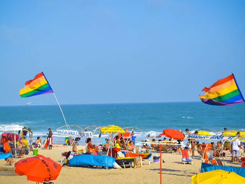 Destino LGBT praia posto 9 ipanema rio de janeiro