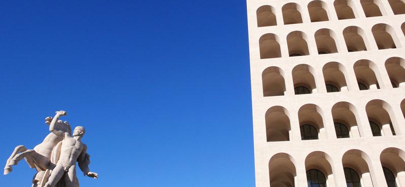 Colosseo Quadrato gay cruising
