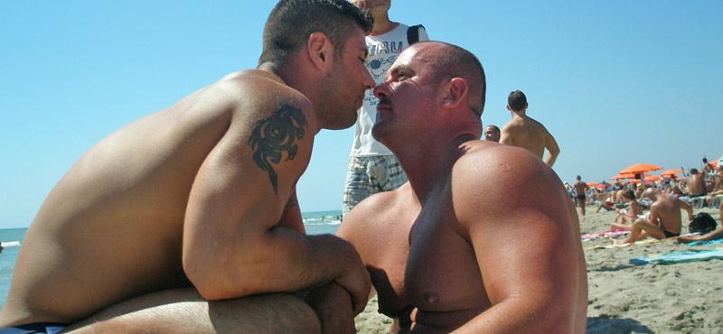 Rome gay beaches