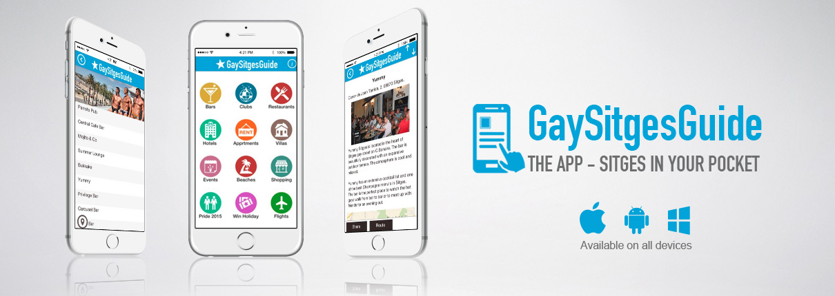 Gay Sitges Guide APP