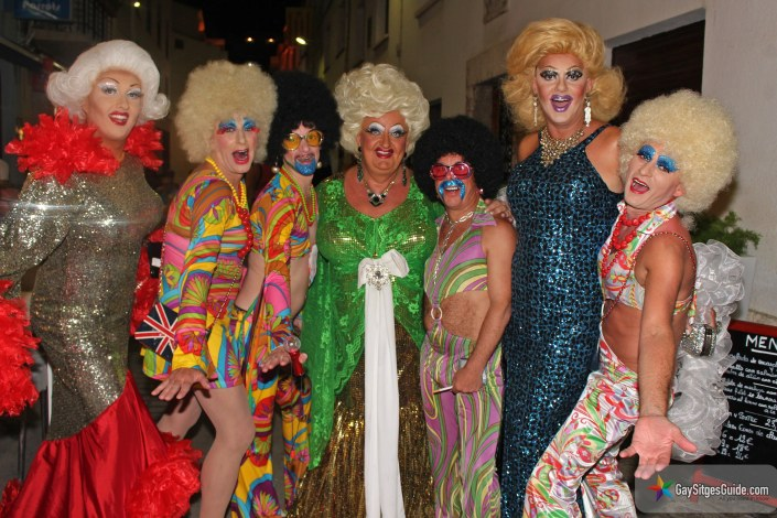 Candy Nasty Lady Diamond and Karlotta in Sitges
