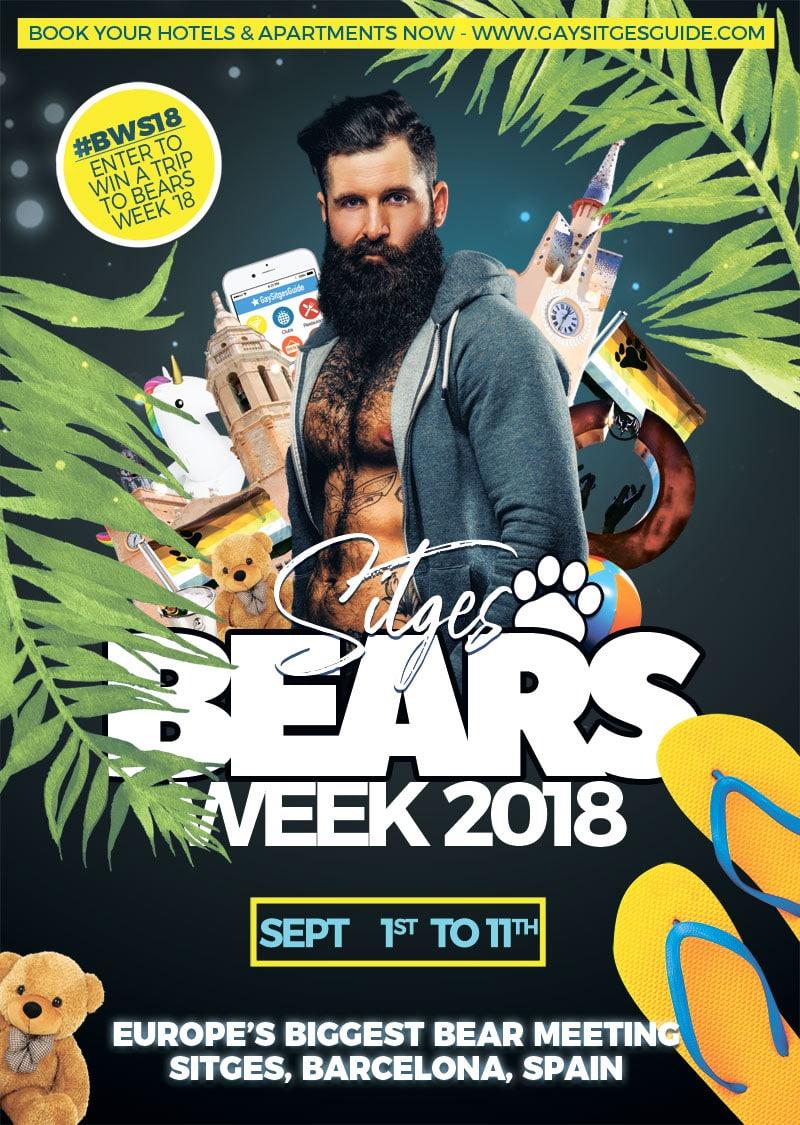 Bears Week Sitges 2018 Dates confirmed
