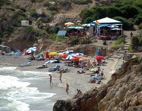 Playa del Muerto Sitges