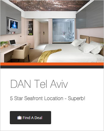 Recommended Hotels in Tel Aviv Gay life permeates every part