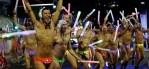 Dancers at Sydney Mardi Gras