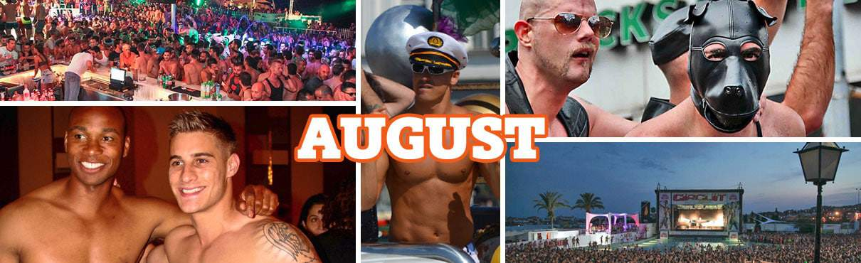 Gay events in August