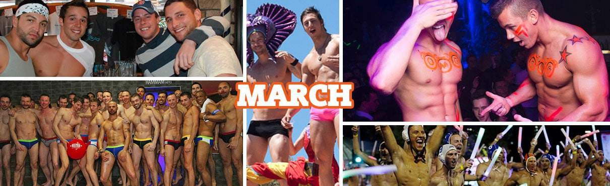 Gay Events in March