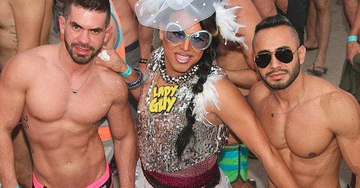 Miami White Party Pool Party