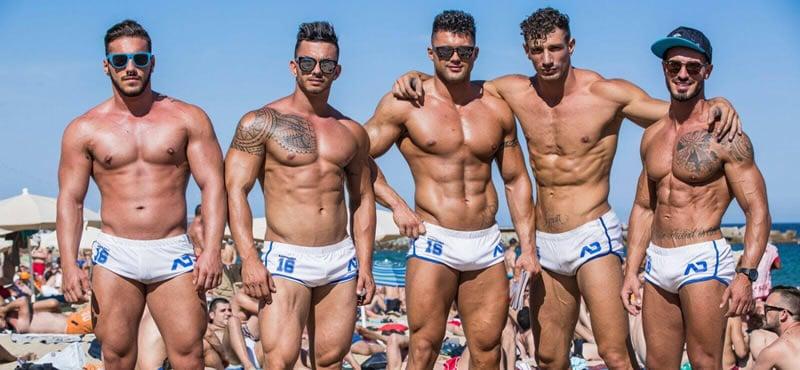 Circuit festival gay barcelonne