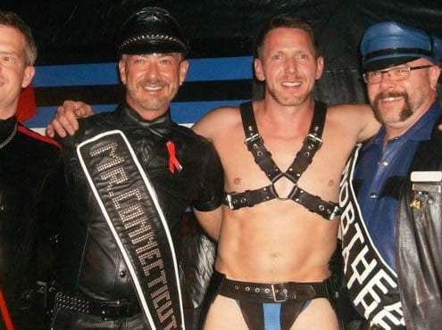 Mates Leather Weekend