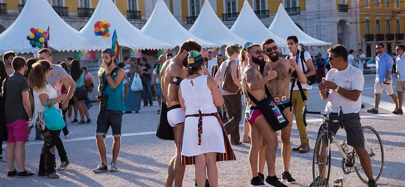 Lisbon Gay Pride takes place in the middle of June 2018