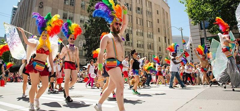 Gay pride parade seattle