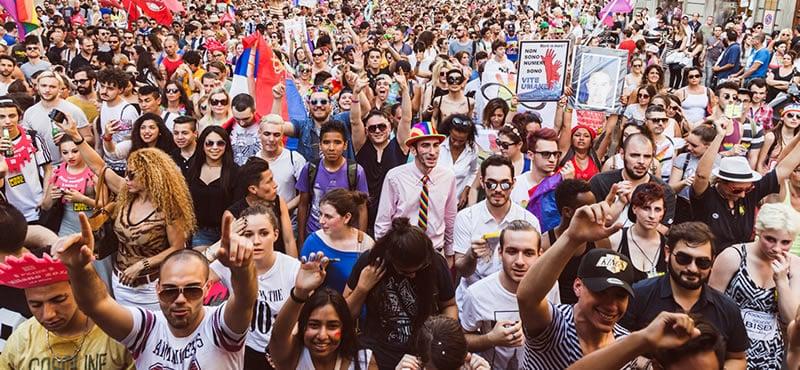 Milan gay pride keibler hot xxx