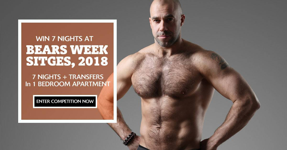 Bears Week Sitges Giveaway