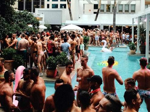 Sydney Mardi Gras Pool Party
