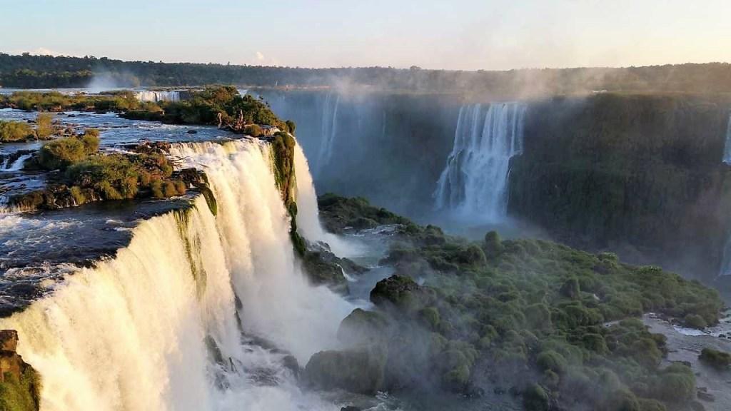 Beeindruckendes Naturschauspiel in Iguacu