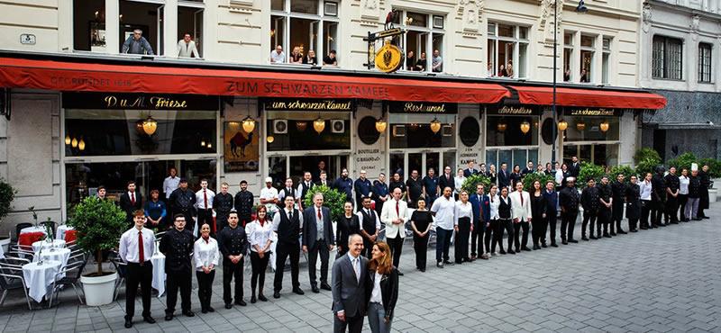 Zum Schwarzen Kameel restaurant Vienna