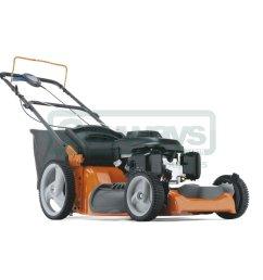 husqvarna r53sv petrol self propelled four wheeled lawnmower [ 1000 x 1000 Pixel ]