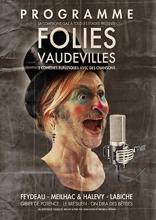 Affiches Folies Vaudevilles