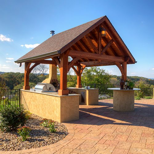 Pavilions Overview  Country Lane Gazebos