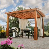 Traditional Wood Pergolas | Country Lane Gazebos