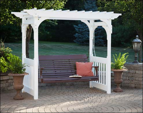 Garden Arbors And Trellises