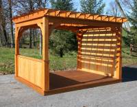 Treated Pine Belvedere Pergolas | Pergolas by Material ...