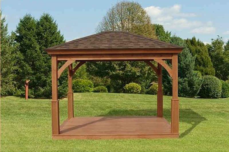 adirondack chairs kits dining wingback chair wood pavilion| pavilion | gazebo depot