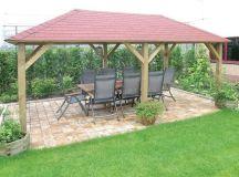 Grande Wooden Garden Gazebo | Cheap Prices Online | Gazebo ...