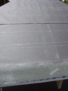 Snap 2 vertical chalk lines at 165mm apart