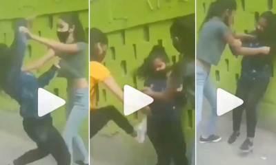Crazy Girls Fight on Street