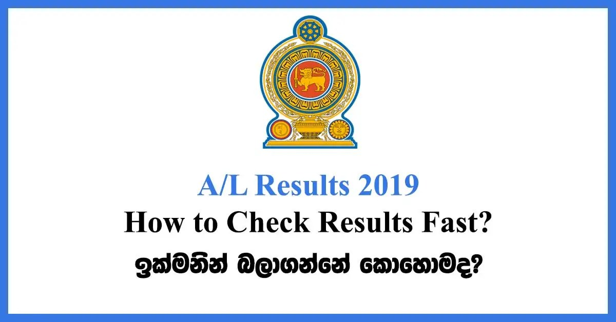 2019 AL Results-How to Check Results Fast