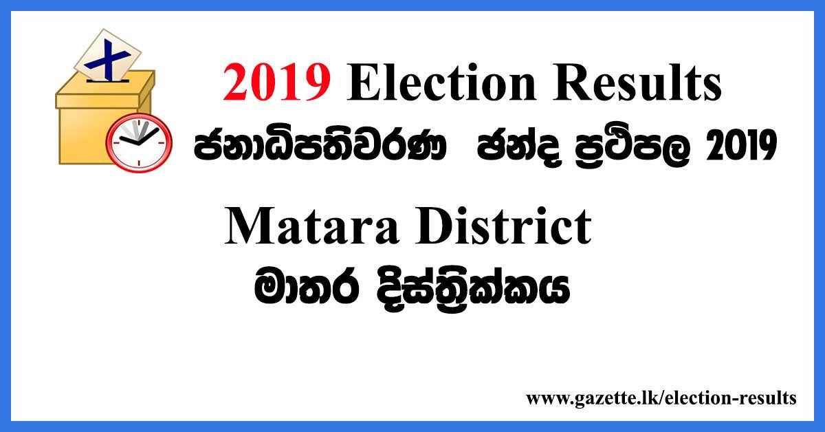 2019-election-results-matara-district