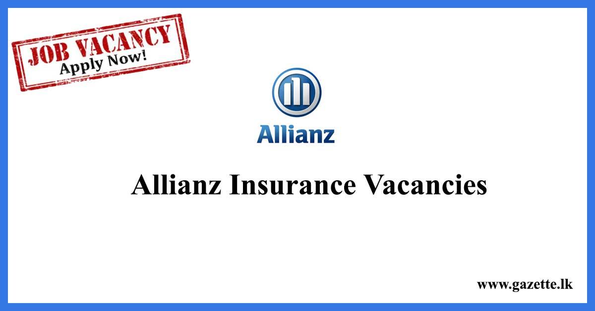 Allianz-Insurance-Vacancies