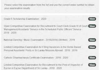 Grade 5 Scholarship Exam 2020 Cut Off Marks