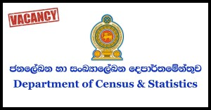 Service Category Of Public Management Technical Segment 3 – Department of Census and Statistics 2018