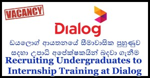 Recruiting Undergraduates to Internship Training at Dialog