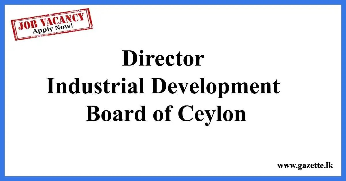 Director-Industrial-Development-Board-of-Ceylon