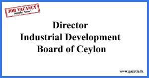 Director-Industrial-Development-Board-of-Ceylon