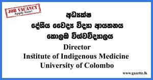 Director---Institute-of-Indigenous-Medicine---University-of-Colombo