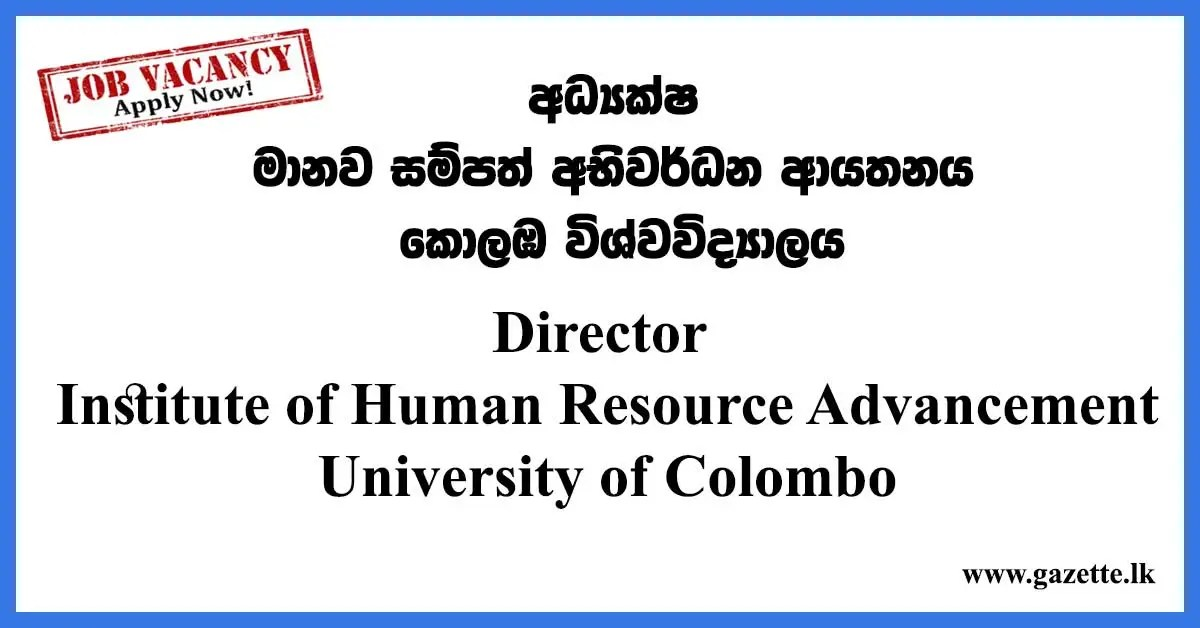 Director--Univeristy-of-Colombo