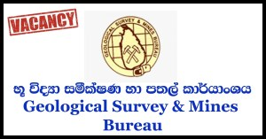 Translator - Geological Survey & Mines Bureau