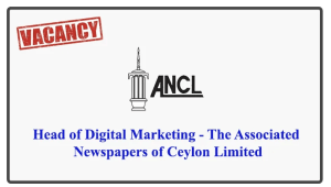 Head of Digital Marketing - The Associated Newspapers of Ceylon Limited