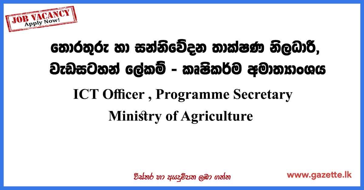 ICT-Officer-Programme-Secretary