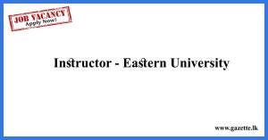 Instructor---Eastern-University