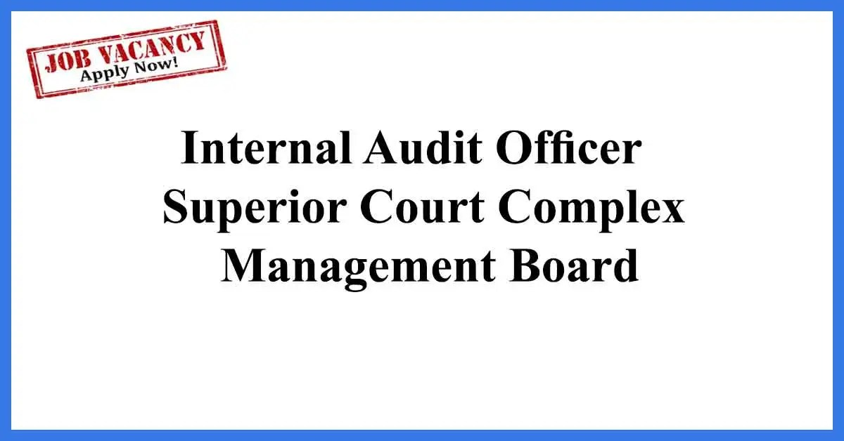 Internal Audit Officer