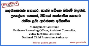 National-Child-Protection-Authority Vacancies